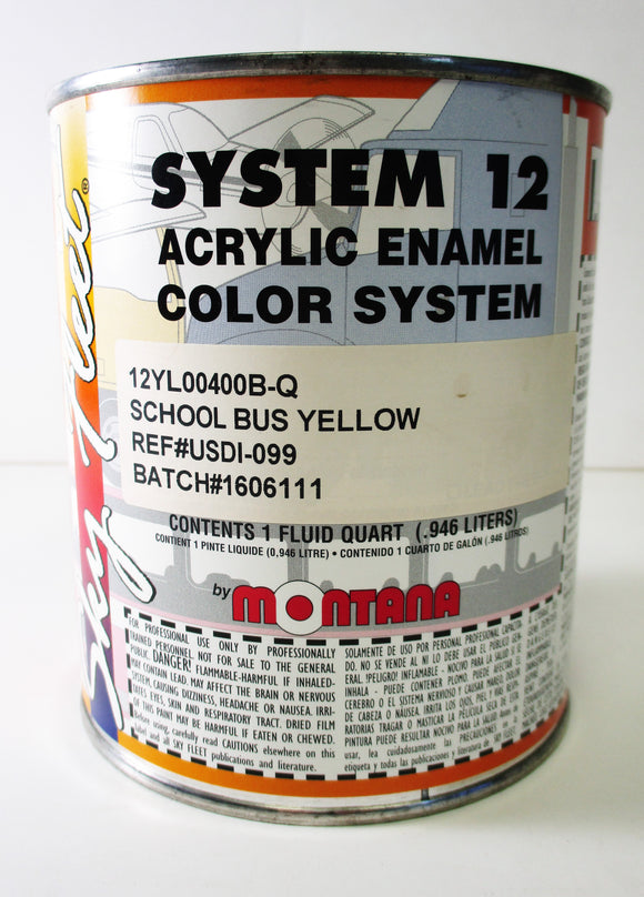 12YL00400B-Q School Bus Yellow