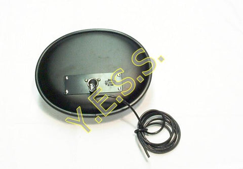 3365TH Heated Convex Cross View Mirror With Partial Tint - Yost Equipment Sales