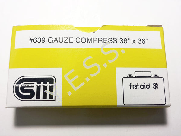 "639 Gauze Compress 36"" x 36"" - Yost Equipment Sales"