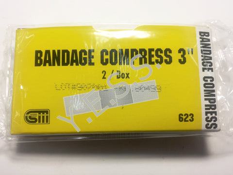 "623 3"" Bandage Compress - Yost Equipment Sales"