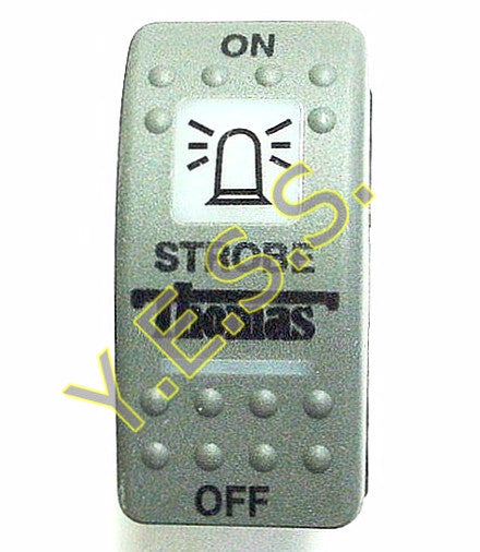 5200-3730 Thomas Strobe Rocker Switch - Yost Equipment Sales