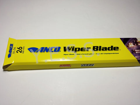 "31-26 Anco 31 Series 26"" Wiper Blade - Yost Equipment Sales"