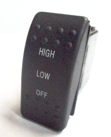 437260001 Off - Low - High 6 Terminal Switch