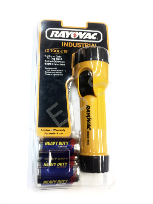 13096 RAY O VAC Yellow Flashlight - Yost Equipment Sales