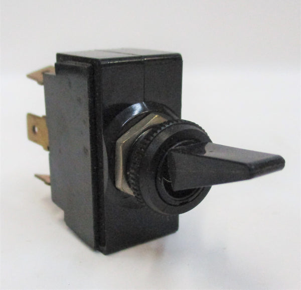 54107-01 Black Toggle Switch 6 Terminal On/Off/On