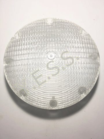 "5001-3 Clear 7"" Lens For Back Up Lamp - Yost Equipment Sales"