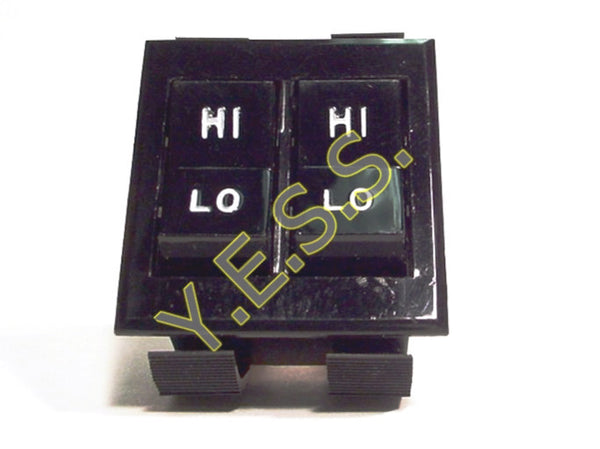 5200-0794 Thomas Heater Dual Rocker Switch - Yost Equipment Sales