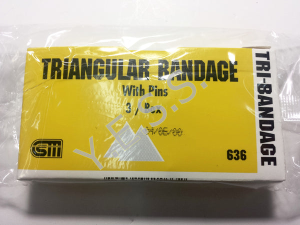 "636 Triangle Bandage 40"" - Yost Equipment Sales"