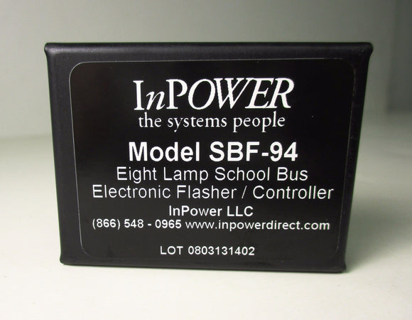 SBF94 In-Power 8 Lamp Flasher - Yost Equipment Sales