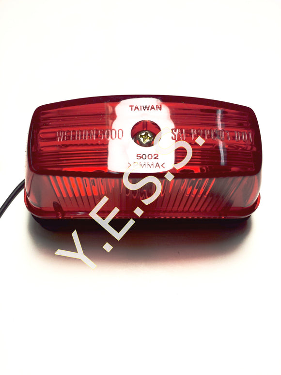 5000-1 Red Marker Lamp - Yost Equipment Sales
