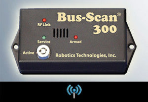 BS300 RF CODED Wireless Bus-Scan Child Reminder System - Yost Equipment Sales