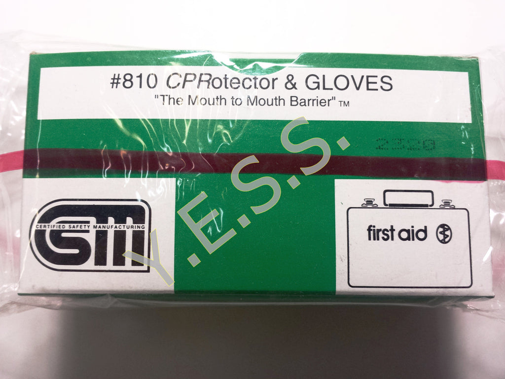 810 CPR Protector With Gloves
