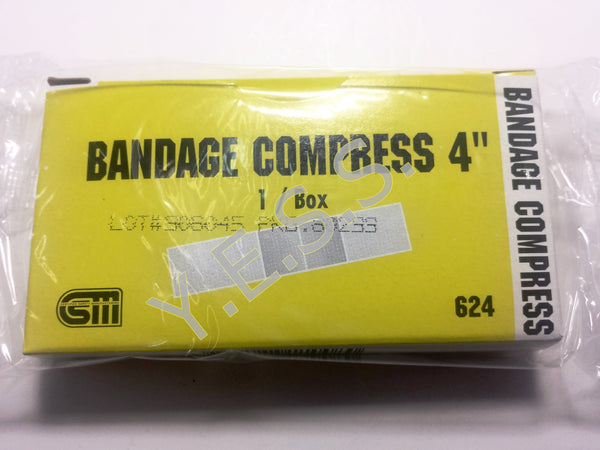 "624 4"" Bandage Compress - Yost Equipment Sales"