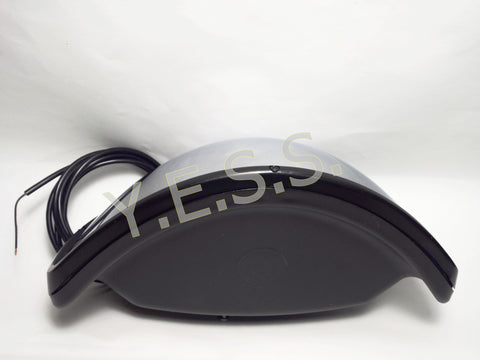 BBHD-380 High Definition Heated Safety Cross Mirror - Yost Equipment Sales