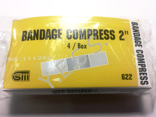"622 2"" Bandage Compress - Yost Equipment Sales"