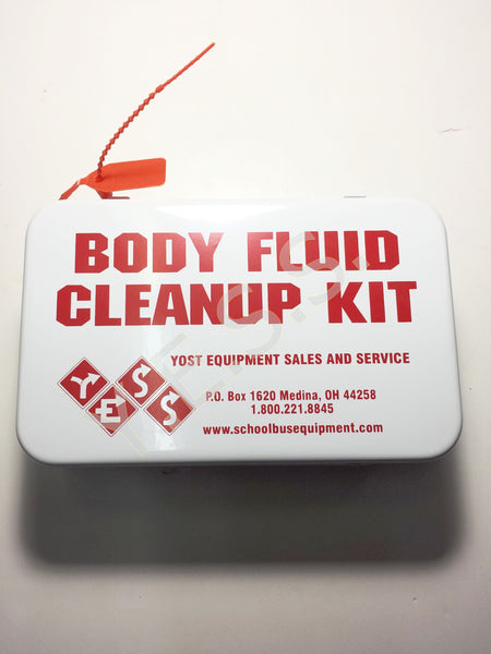BFK-10M-OH Body Fluid Clean Up Kit In Metal Case - Yost Equipment Sales