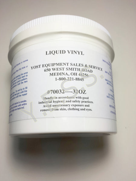 102 Liquid Vinyl Seat Adhesive 32 oz. - Yost Equipment Sales