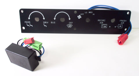 0037786 Bluebird Heater Control Panel - Yost Equipment Sales