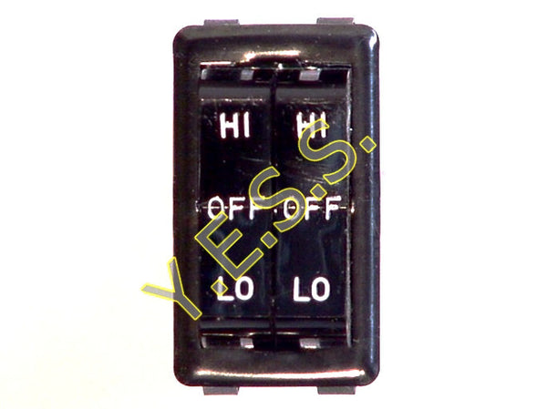 58506-07 Dual Rocker Switch - Yost Equipment Sales