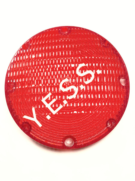 "1003-1 Red 7"" Lens For 1010 Series - Yost Equipment Sales"