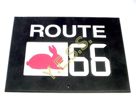 RC-H4RA2 Route Number With Animal Sign - Yost Equipment Sales