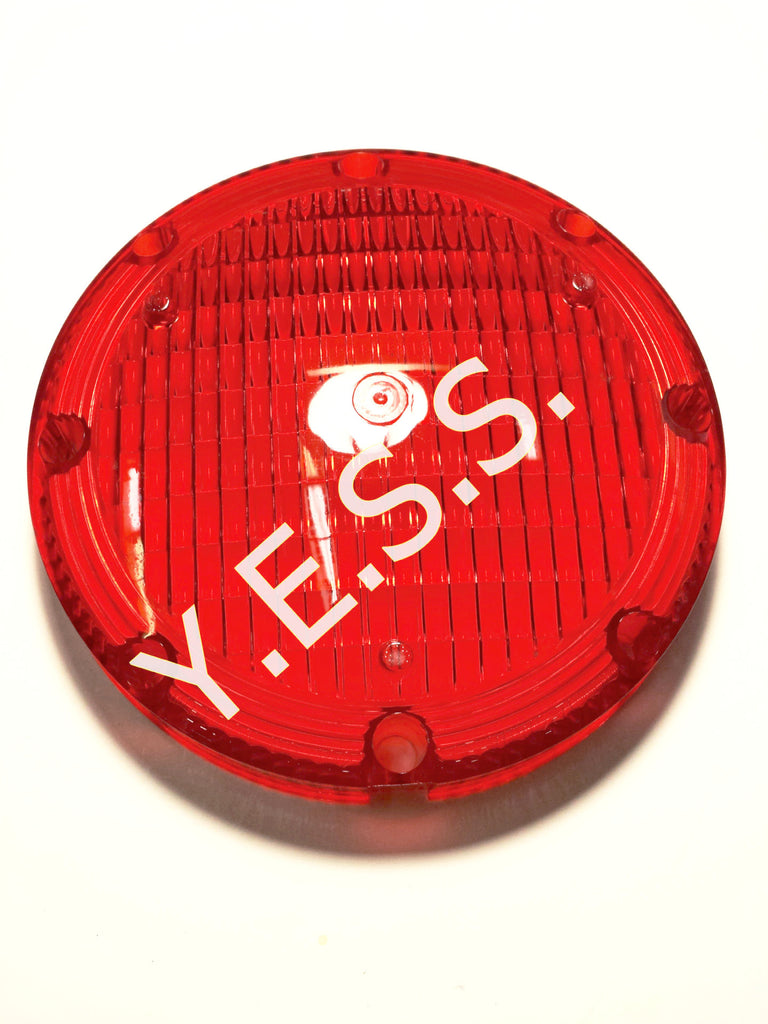 "1004-1 Red 7"" Lens For 1020 Series - Yost Equipment Sales"
