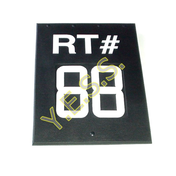 RC-H2R Route Number Sign - Yost Equipment Sales