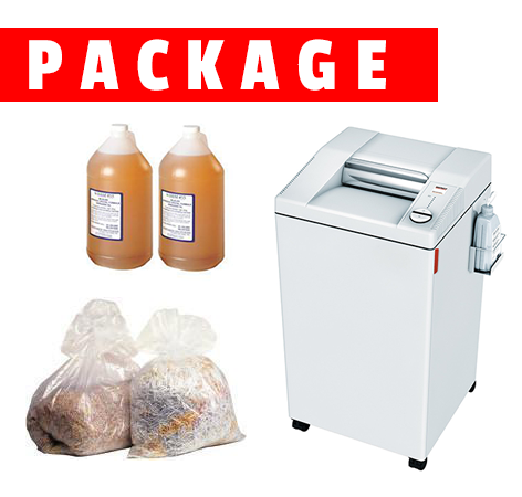 Destroyit Shredder 2605 SMC High Security with Bags and Oil Package - Whitaker Brothers