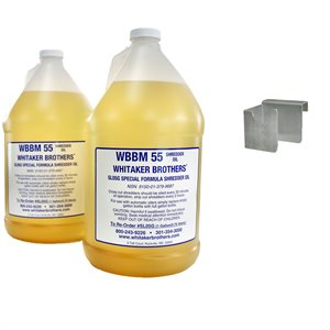 GALLON KIT FOR AUTO OILERS + 2 GALLONS OF OIL (HANGING STYLE BRACKET) - Whitaker Brothers