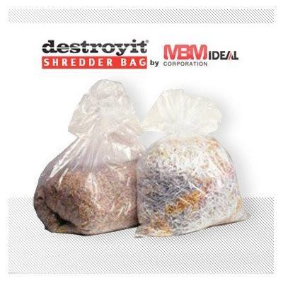 Shredder Supplies - Destroyit Shredder Bag 901 (100 Ct)
