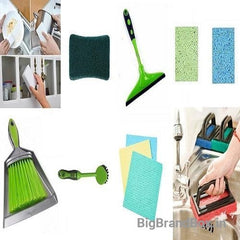 Multi Cleaning Kitchen Set 8 Pcs Combo