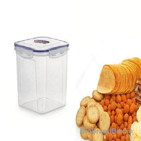 Quick Lock Rectangle Shape Lunch Box 1000ml
