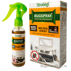 Herbal Bed Bug Spray 100 ML By Strategi