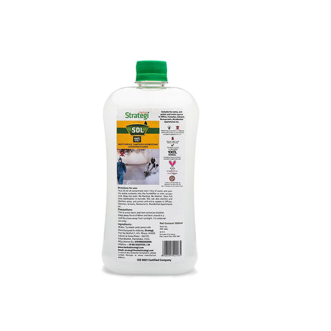 Multi Surface Sanitizer & Disinfectant Concentrate Liquid By Herbal Strategi