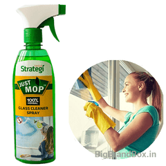 Herbal Glass Cleaner Spray 500 ML By Strategi