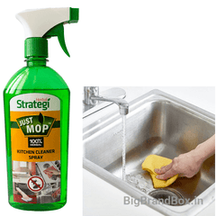Kitchen Cleaner 500 ML By Herbal Strategi