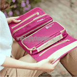 Women's Fold-up Travel Cosmetics Washable Bag