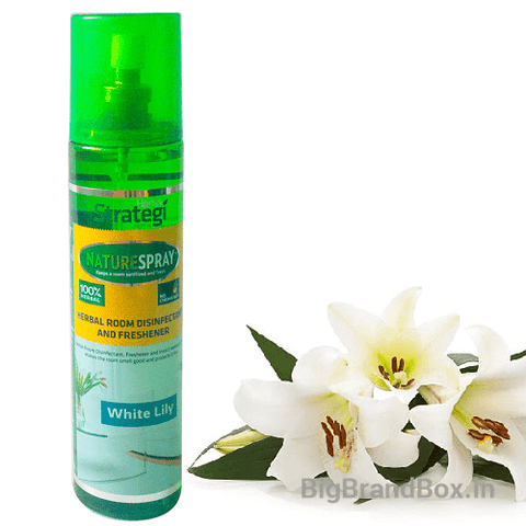 White Lily Herbal Room Freshener 250ML By Strategi