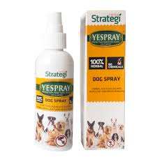 Herbal Strategi Dog Spray Yespray Protection From Ticks , Fleas, Lice And Mites For Dogs