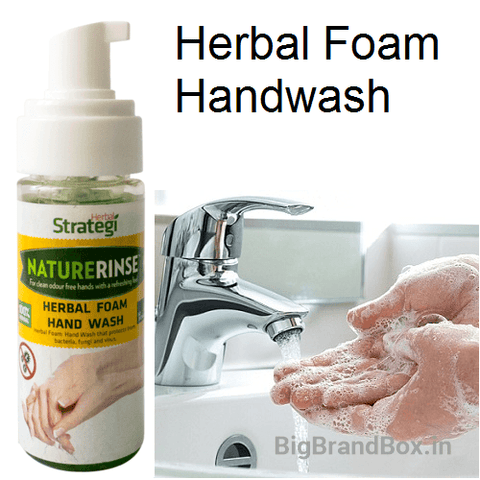 Herbal Foam Hand Wash By Herbal Strategi