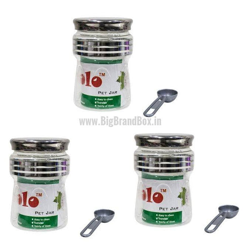 Plastic Jar Set 3