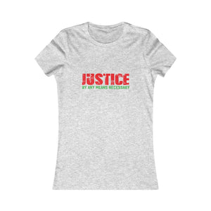 Women's Justice Tee Athletic Heather