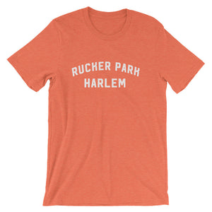 Rucker park t-shirt heather orange