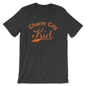 Charm City t-shirt dark grey heather