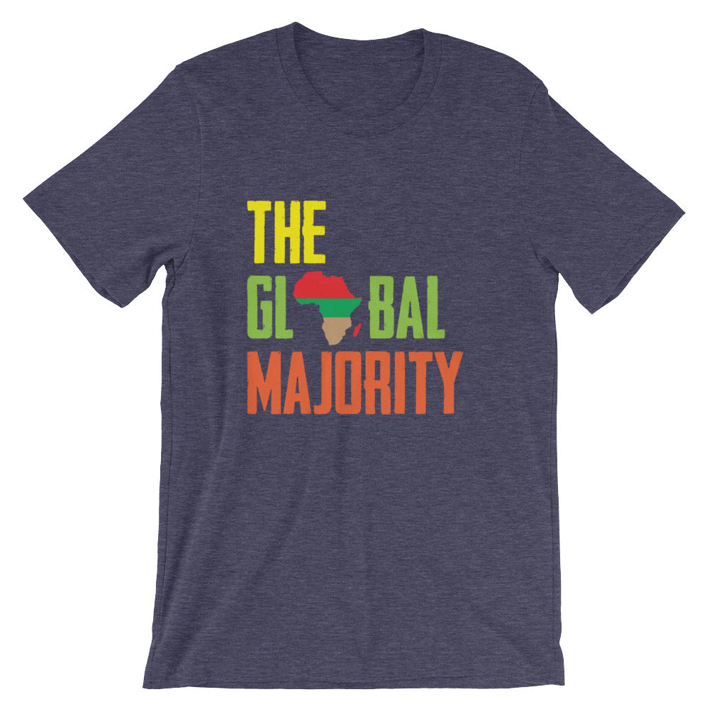 The Global Majority Unisex T-Shirt heather navy