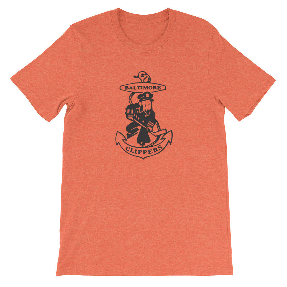 Baltimore Clippers t-shirt heather orange