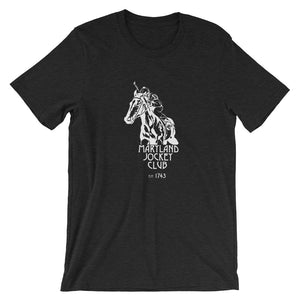 Limited Edition Maryland Jockey Club Unisex T-Shirt heather black