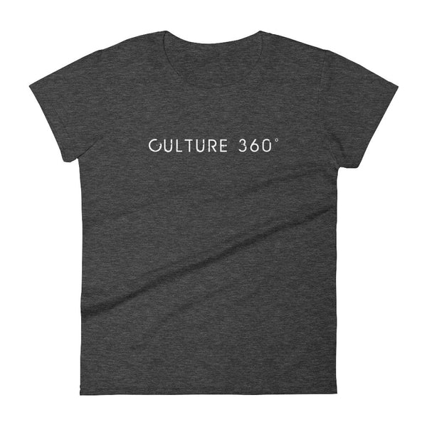 Women's culture 360 t-shirt heather dark grey