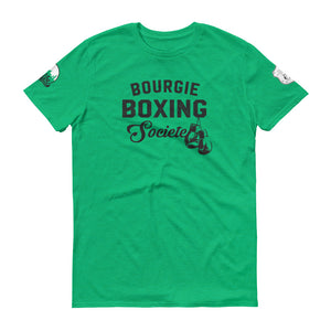 Bourgie Boxing Societe Short-Sleeve T-Shirt heather green
