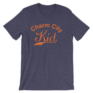 Charm City t-shirt heather midnight navy